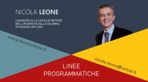 Nicola Leone - Programma completo